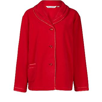 """Slenderella Red 25 """"hosszú ujjú polár bedjacket BJ6320"""