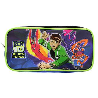Pencil Case - Ben 10 - Alien Force New Stationery Bag Gifts Toys Pouch 497811
