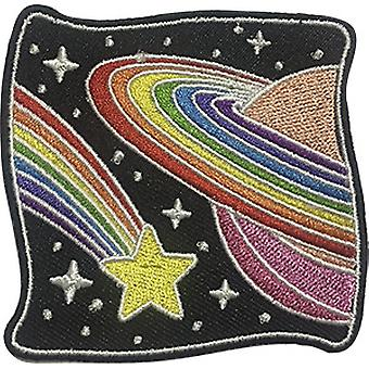 Aufnäher - C&D - Space Out - Rainbow Star New Iron-On p-dsx-4814