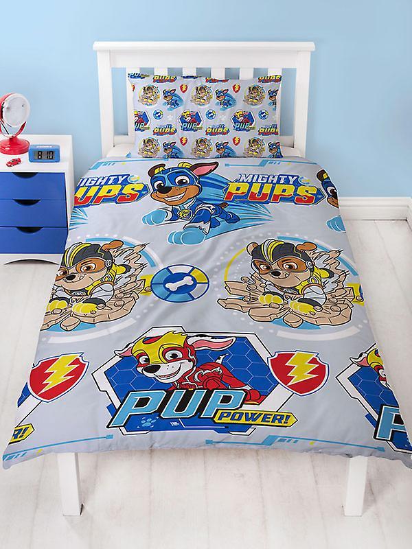 Paw Patrol Super Single Duvet Cover and Pillowcase Set