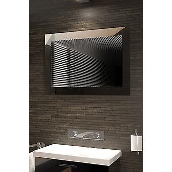 Perfekte Spiegelung Rgb LED Badezimmer Infinity Spiegel K215hrgb