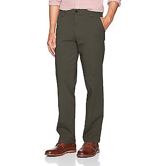 Dockers Men's Straight Fit Workday Khaki Pants with Smart, Grey, Size 36W x 29L