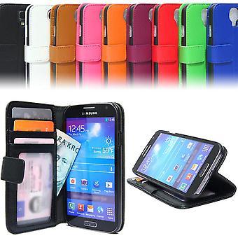 Plånboksfodral Väska Samsung Galaxy S4 Mini ID/foto ficka Fashion Wallet Case