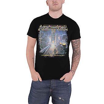 Heathen T Shirt Victims Of Deception Band Logo new Official Mens Black