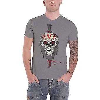 Vikings T Shirt Berserker Logo TV Show new Official Mens Charcoal