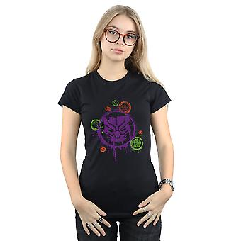 Marvel Women's Avengers Panther Halloween Icon T-Shirt