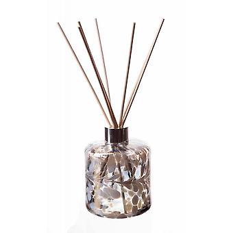 Amelia Art Sticlă Cilindru Reed Difuzor - Gri