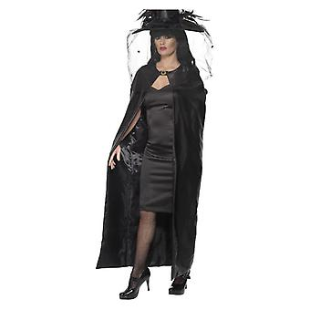 Deluxe Witch Cape, sort