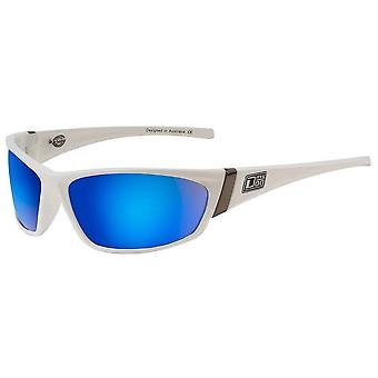 Dirty Dog Stoat Sunglasses - White/Grey/Blue