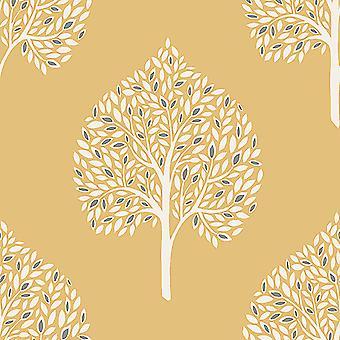 Annabelle Tree wallpaper Fine decor