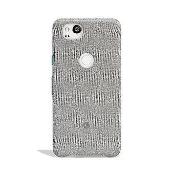 Google Fabric Case pour Pixel 2 - Ciment