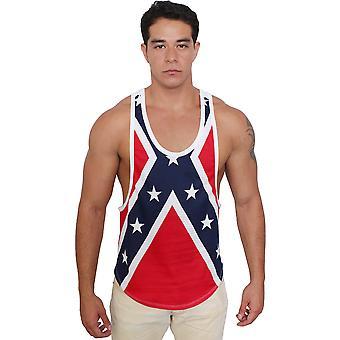 Confederate Rebel Flag Tank Top