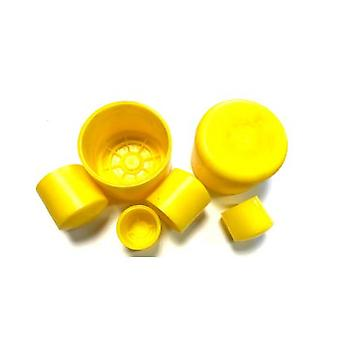 Plastic (ldpe) External End Cap For 15nb (21.3 Mm Od) Pipe
