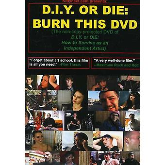 D.I.Y. or Die-How to Survive as an Independent Art [DVD] USA import