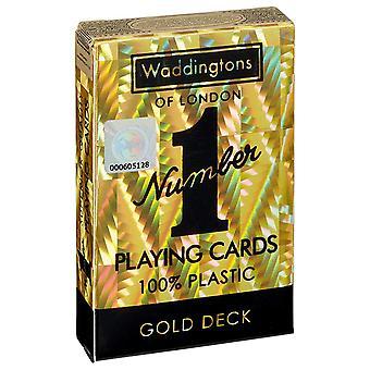 Wattetons Nr. 1 GOLD Classic Spielkarten in hoher Qualität