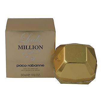 Paco Rabanne Lady Million 30ml Eau de Parfum Spray for Women