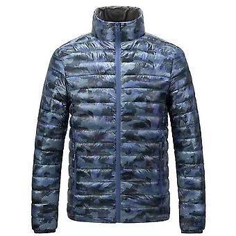 Allthemen Men's Camouflage Lightweight Packable Down Padded Jacket