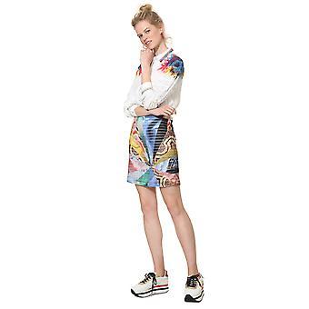 Desigual Women's Minerva Printed Mini Skirt
