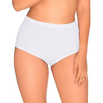 Sans complexe 619102 femei ' s simplu alb solid culoare chiloți pantalon scurt