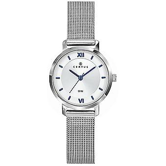 Certus 641355 Watch-Milanese silver stål kvinnor