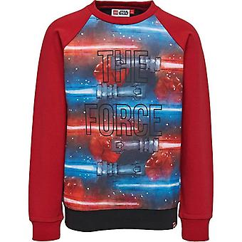 Lego indossa Red Boys Sweater Star Wars - La Forza