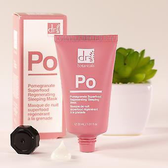 Pomegranate superfood regenerating sleeping mask (30ml)