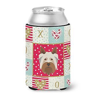 Carolines Treasures  CK5183CC Australian Silky Terrier Love Can or Bottle Hugger
