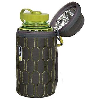 Nalgene Grey Insulated Cover With Zip Top 1L