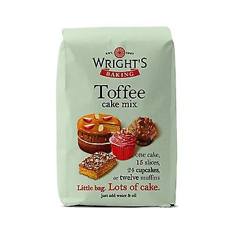 Wrights bagning Wrights toffee kage mix 500g X 5