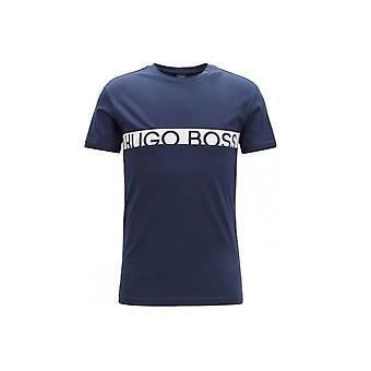 Hugo Boss Leisure Wear Hugo Boss Men's Navy Blue T-Shirt