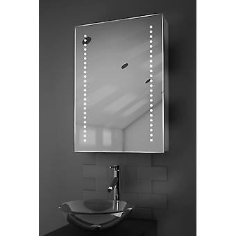 Ghita LED Bathroom Cabinet with Demister Pad, Sensor & Shaver k351