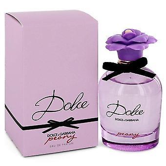Dolce peony eau de parfum spray by dolce & gabbana   545372 75 ml