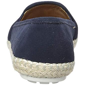 Aerosoles Women's Lets Drive Loafer, Navy Suede, 12 M US