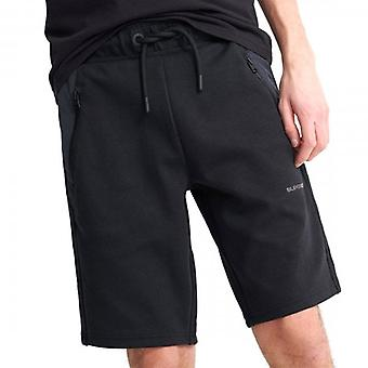 Superdry Urban Tech Jersey Shorts Black 02A