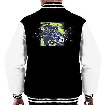 Motorsport Images Lotus 72D Leaves The Pits Men's Varsity Jacket
