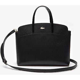 Tas Bandouli re Leather Black Lacoste