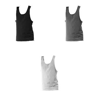 Tanx Mens Vest Sleeveless Vest Top / Muscle Vest (Pack of 2)