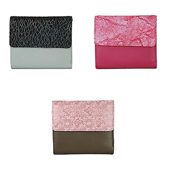Eastern Counties Leather Womens/Ladies Anais Purse With Foil Embossed Panel