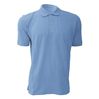 Russell Mens 100 % coton Chemise Polo à manches courtes