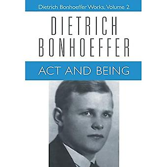 Works: Act and Being v. 2 (Dietrich Bonhoeffer Works (Hardcover))