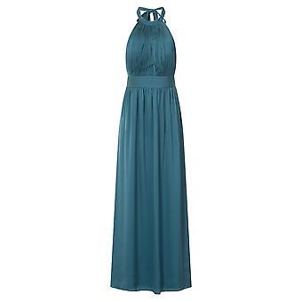 Little Mistress Womens/Ladies Petrol Keyhole Maxi Dress