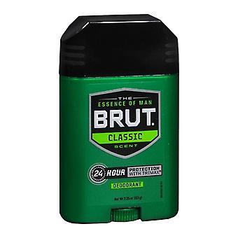 Brut ovale vaste stok 24 uur deodorant, origineel, 2,25 oz