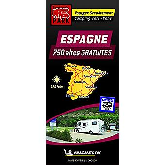 Spain Motorhome Stopovers - Trailers Park Maps - 9782919004539 Book