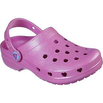 Skechers Girls Heart Charmer Sweet Breeze Clog Sandals