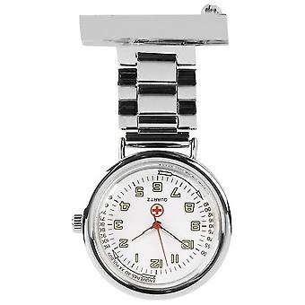 Orton West verpleegkundigen Fob Watch - zilver