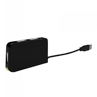 4-porttinen USB-keskitin n. APPHT4BK USB 2,0 musta