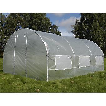 Polytunnel kasvihuone 3x3x2 m, 9 m², läpinäkyvä