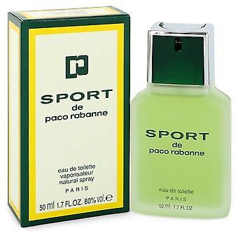 Paco Rabanne Sport Eau De Toilette Spray By Paco Rabanne 1.7 oz Eau De Toilette Spray