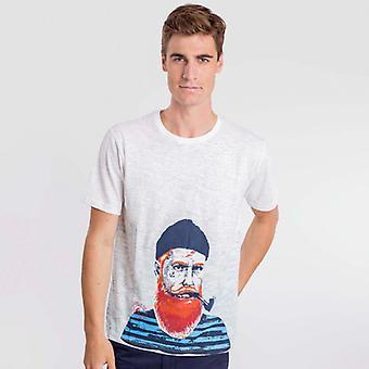 Camiseta Branca fisher