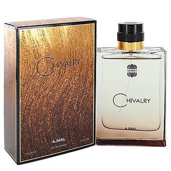 Ajmal Chivalry Eau De Parfum Spray By Ajmal 3.4 oz Eau De Parfum Spray
